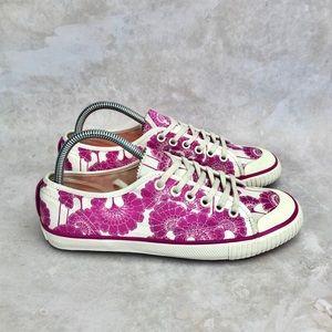 NWOT Florence Broadhurst Kate Spade Tretorn Shoes